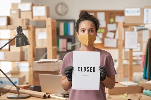 Closed for a pandemic